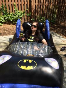 Check out my sweet Batmobilepool.