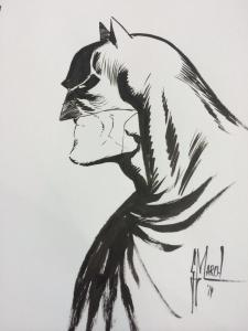 My Batman sketch done by Guillem March!